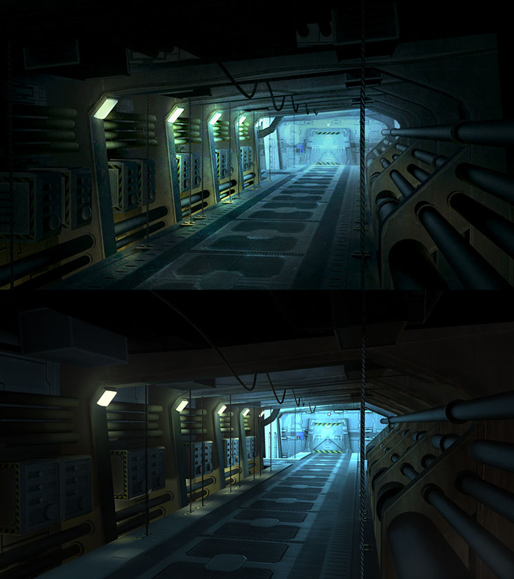Shading & Lighting, Final Project, Student Work, mental ray