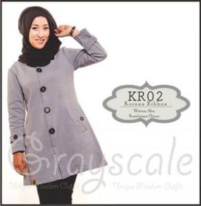 jaket terbaru wanita muslimah korea  R (2)