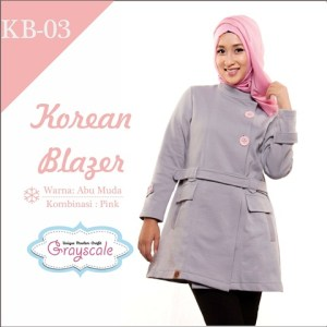 jaket terbaru jaket wanita muslimah blazer (3)