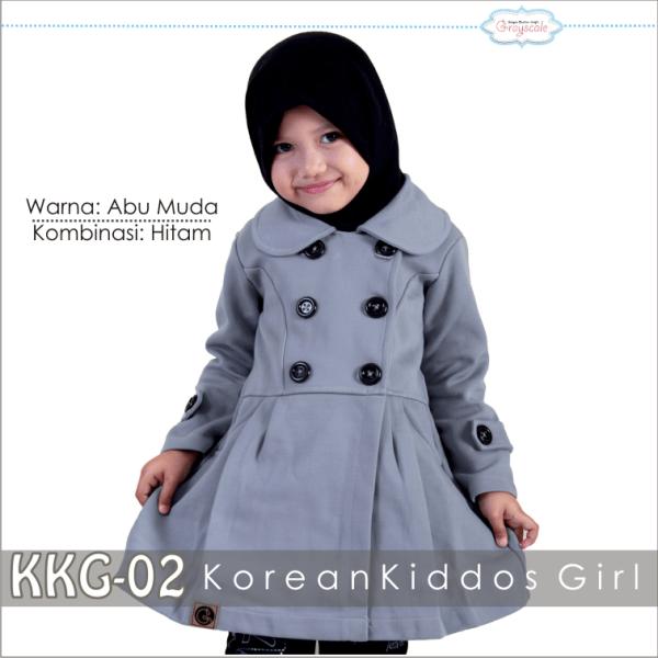 Jaket anak Grayscale KKG 02