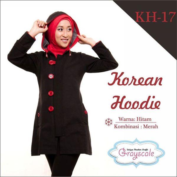 Desain Jaket Muslimah Hoodie