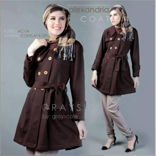 Grosir Coat Muslimah