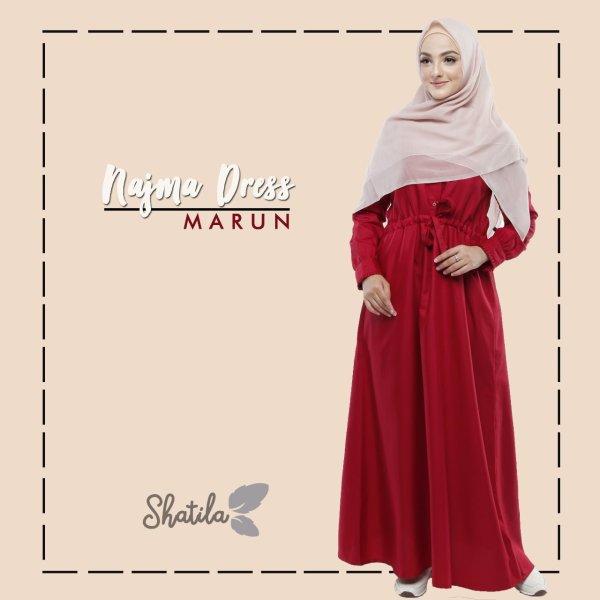 Grosir Dress Muslim Terbaru