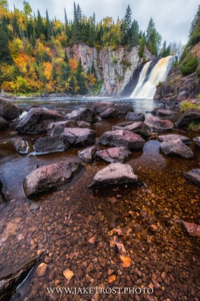 Fall at High Falls, Tettegouche State Park, MN