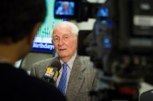 Vince Bagli talking to WBAL TV about the Baltimore Colts leaving Baltimore in 1984