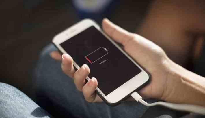 bateria w iphone