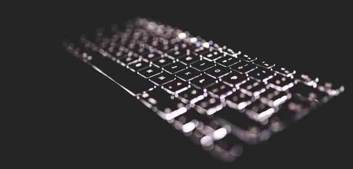 podswietlana klawiatura
