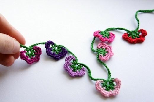 Turkish Crochet Necklace by JaKiGu