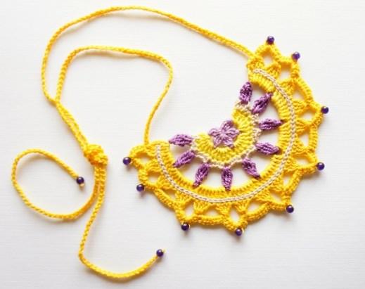Crochet Pattern Nursing Necklace Jakigu