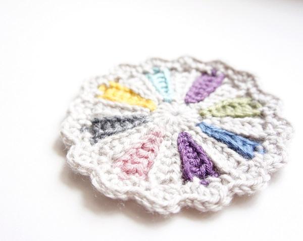Crochet Coaster Pattern by JaKiGu