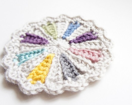 Crochet Coaster Pattern by JaKiGu