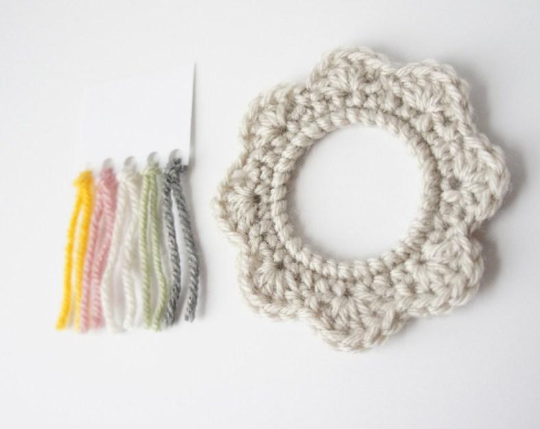 Crochet Picture Frame by JaKiGu
