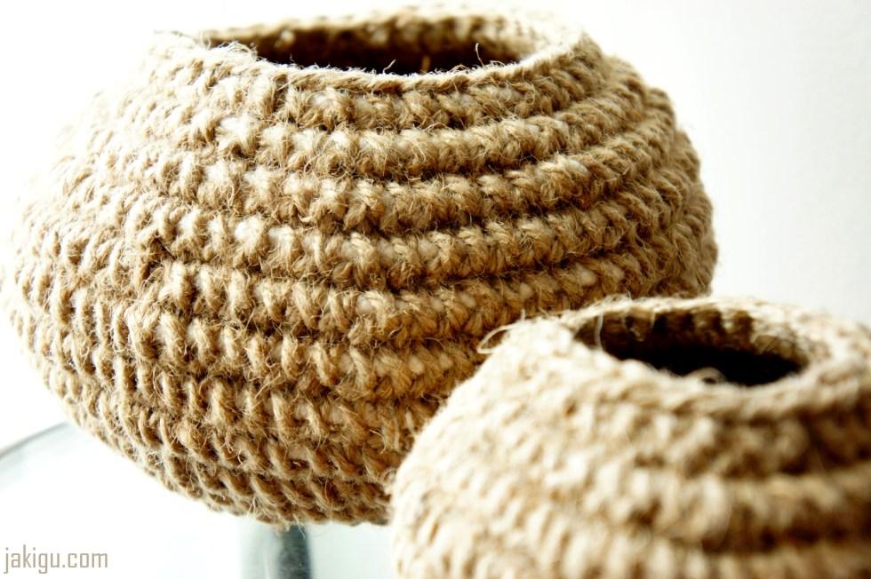 Basket Making Jute : Crochet baskets archives jakigu