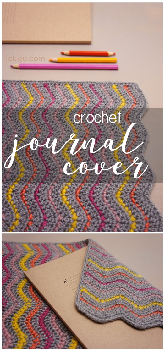 crochet journal cover