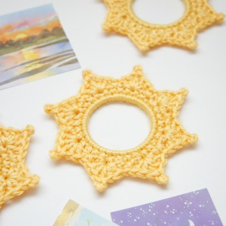 Crochet picture frame and complete beginner step-by-step guide by jakigu
