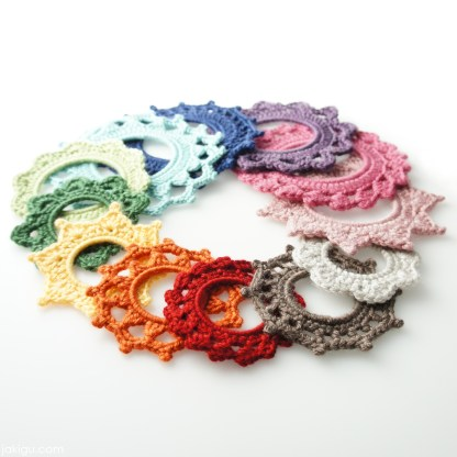 Crochet Picture Frames by jakigu.com
