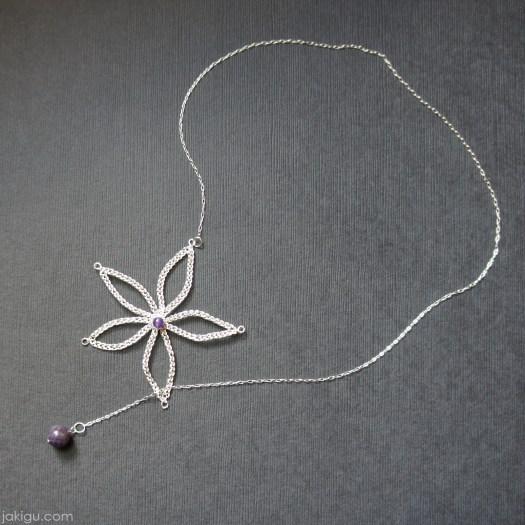 lariat necklace by jakigu.com
