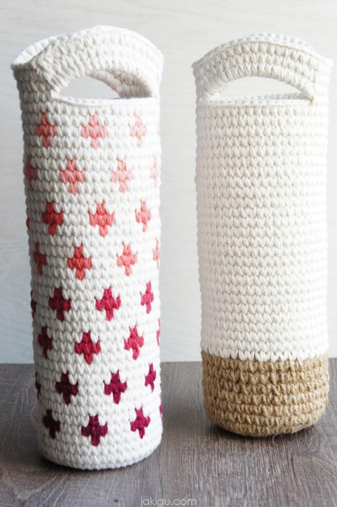 Crochet Gift Bags, jakigu.com crochet pattern