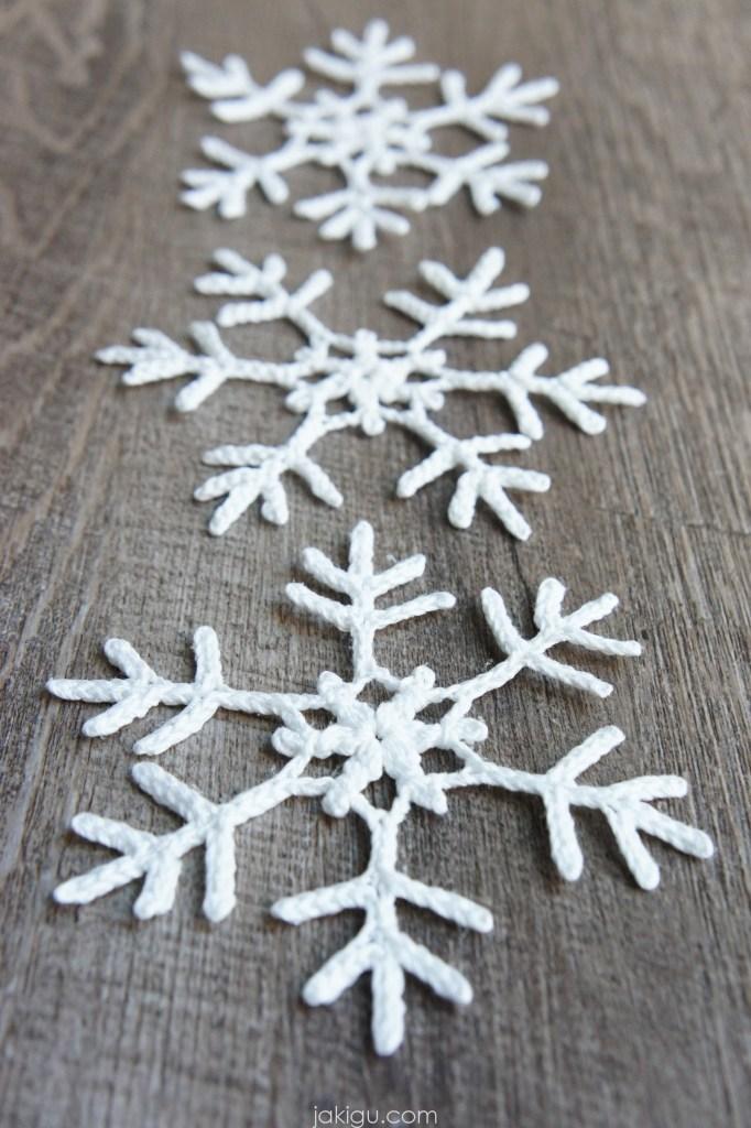 Crochet Snowflake, jakigu.com free crochet pattern