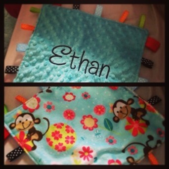 Babies taggy blanket – a review….