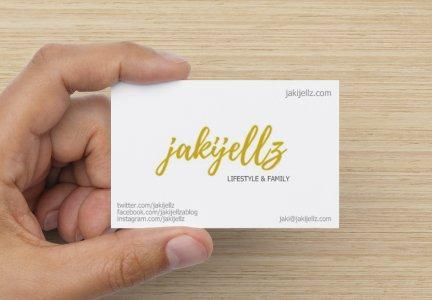 design your own business cards for bloggers