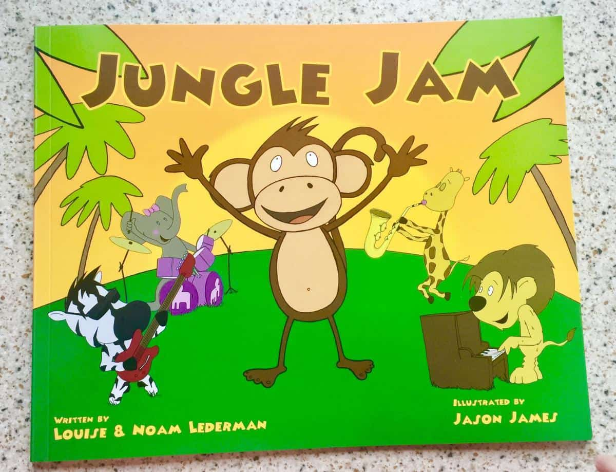 Gift Guide Jungle Jam Book