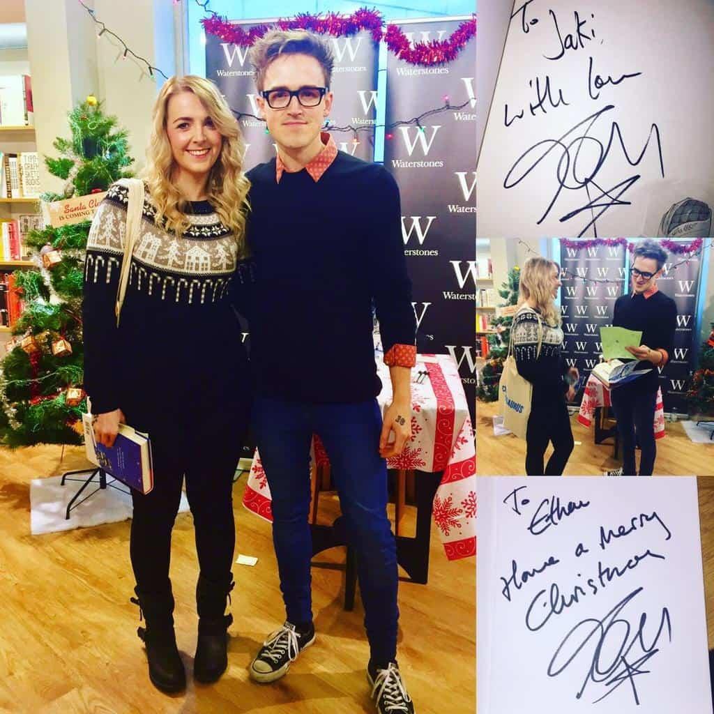Tom Fletcher book signing