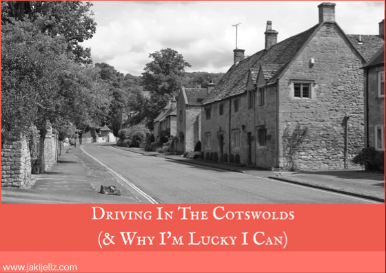 Driving In The Cotswolds