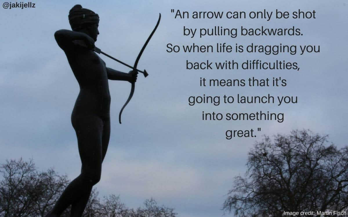 Shooting Arrow – Wednesday Wisdom 17
