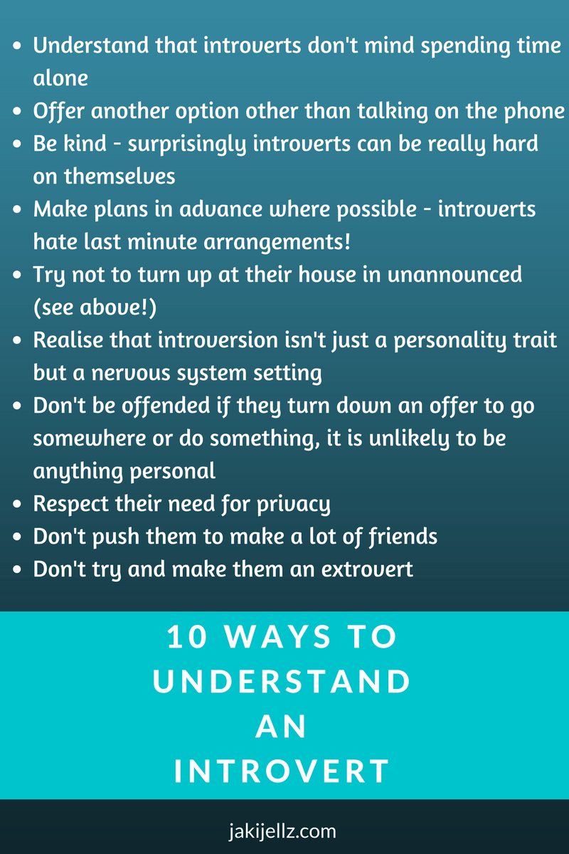 10 ways to understand an introvert