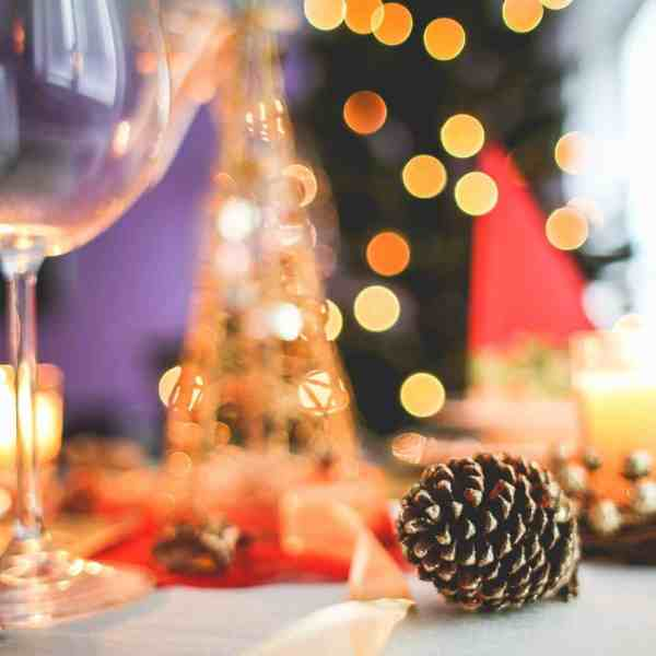 Creating A Pretty Table For Christmastime