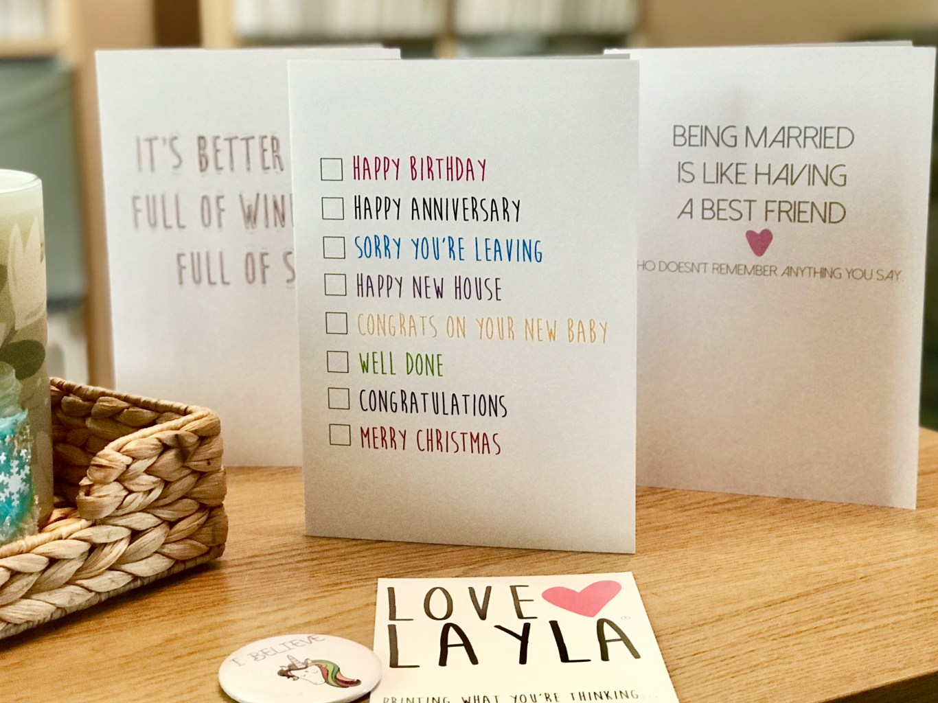 fun and unique greetings cards