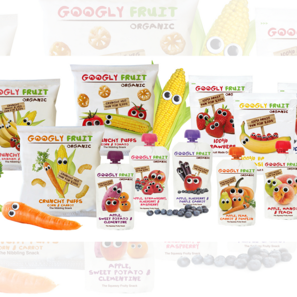 Googly Fruit Organic Goody Bag Giveaway - Organic Treats For Kids!