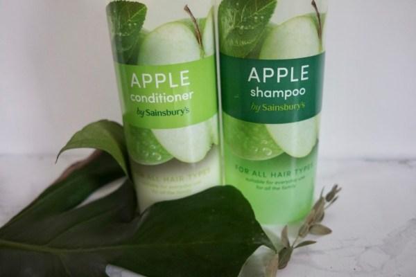 Sainsbury's, Sainsbury's szampon i odżywka |zielone jabłko, Jak naturalnie, Jak naturalnie