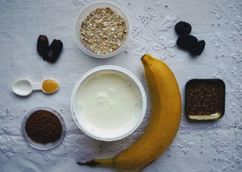 , Smakowite lody z bananem i borówkami, Jak naturalnie, Jak naturalnie
