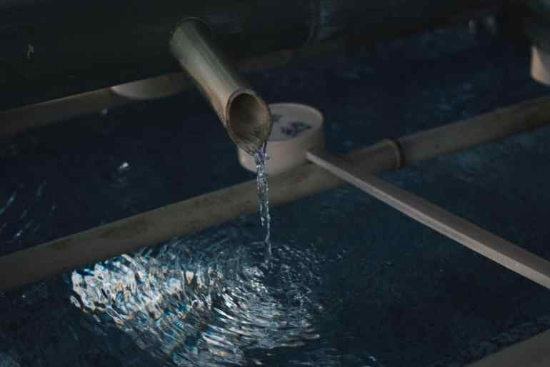 myć włosy samą wodą