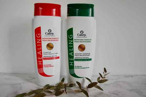 Catzy, szampony przeciwłupieżowe z cynkiem