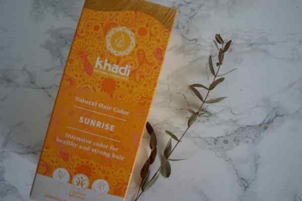 henna khadi, Henna Khadi Słoneczny Blond | recenzja i efekty, Jak naturalnie