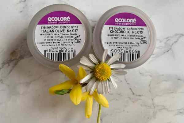 Ecolore | Cienie mineralne Chocoholic i Italian Olive