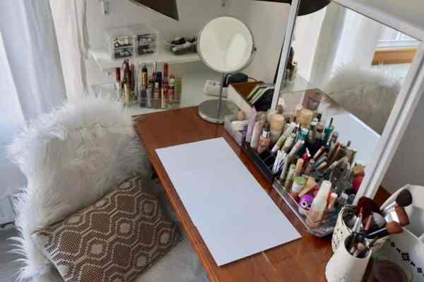 Moja toaletka i kosmetyki do makijażu cz.1