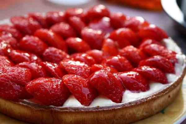 ciasto, Ciasto wegańskie z owocami, Jak naturalnie, Jak naturalnie