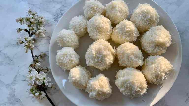 """Rafaello"", domowe kulki kokosowe (keto, LCHF, low carb)"