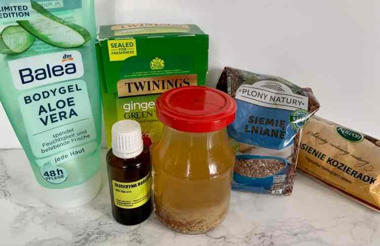 Spray do reanimacji loków odżywka diy