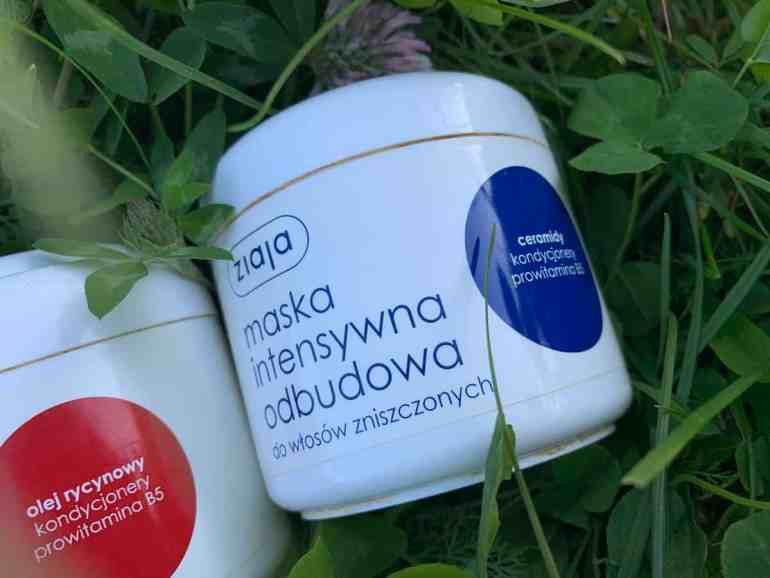 Ziaja, Ceramides Hair Mask, concentrated reconstructing mask