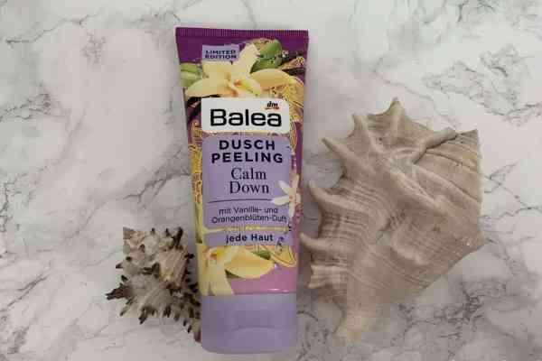 Balea, Calm Down, Żel peelingujący pod prysznic