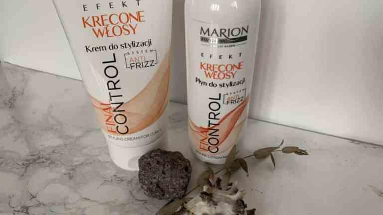 Marion Kręcone włosy, krem i płyn Final Control