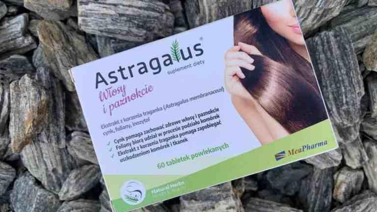 Astragalus Włosy i paznokcie | efekty po miesiącu