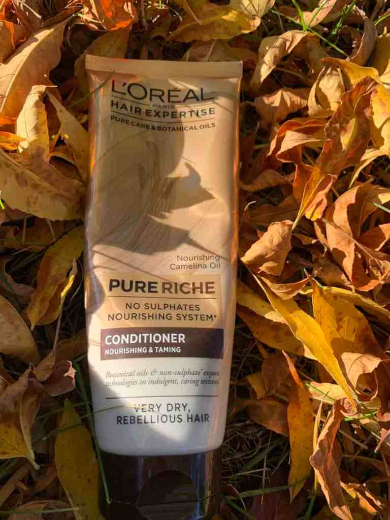 L'Oreal Hair Expertise, odżywka Pure Riche, moja opinia: