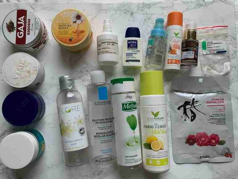 empties 2020 |  natural cosmetics for the face