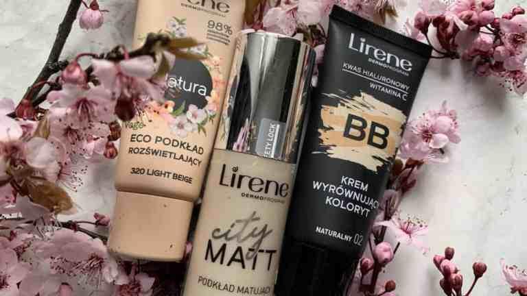 Lirene, trzy podkłady do jasnej karnacji | makijaż